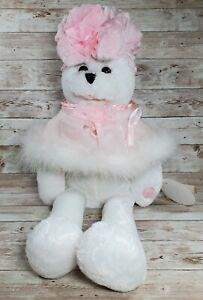 Chantilly Lane Bear Musical Sing I Hope You Dance Breast Cancer Pink Ribbon 2000
