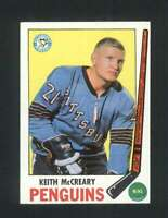 1969-70 Topps #114 Keith McCreary EX+ Penguins 128770