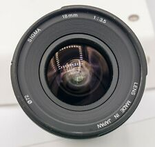 Sigma 18mm F3.5 Maxxum Full Frame A900 A850 Sony Alpha Camera Lens - 251st Made!