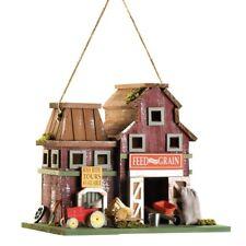 HOME GARDEN COUNTRY DECOR FARMSTEAD BIRD HOUSE BIRDHOUSE WOOD