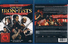 THE MAN WITH THE IRON FISTS --- Blu-ray --- Extended Edition --- FSK 18 ---
