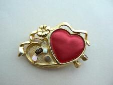 Gold Plated Enamel Vintage Costume Jewellery (1970s)