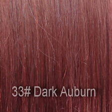 38.1cm DIY weft remy clip natural extensions all colours