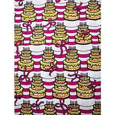 African Birthday Cake Print Fabric BY 1/2 YARD Ankara kitenge fancy wax p1240