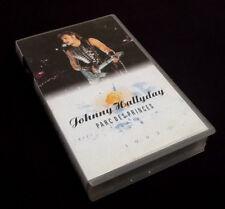 "Johnny Hallyday "" Auffang- "" Kassette VHS Park Des Prinzenzepter (1993)"