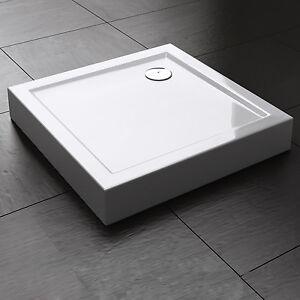 Duschtasse Duschwanne Dusche Brausewanne Acrylwanne Höhe 14cm mit Füße & Schürze