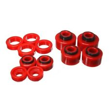 Energy Suspension 4-4121R Body Mount Set Red NEW