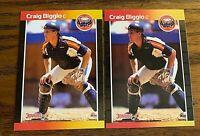 1989 Donruss #561 Craig Biggio RC - Astros HOF  (2)
