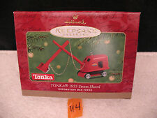 Hallmark Christmas Keepsake Ornament Die Cast Metal TONKA 1955 STEAM SHOVEL 2001