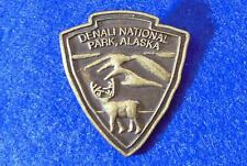 Denali National Park cap vest pin tie tack souvenir Mount McKinley