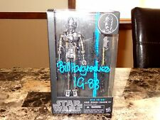 IG-88 Black Series Star Wars Action Figure Bill Hargreaves Empire Strikes Back