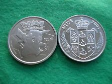 2001 NIUE $1 ONE DOLLAR PROOFLIKE CU/NI POKEMON PIKACHU COIN KM#137 FREEPOST