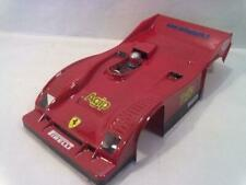 0706 - Ferrari 312PB Rc car body clear 1/12 Scale Associated CRC