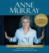 ANNE MURRAY - ALL OF ME AUDIOBOOK NEW CD