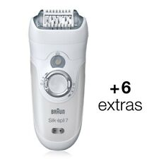 Braun Silk Epil 7 7-561 Women's Wet&Dry Cordless Epilator Hair Remover +6 EXTRAS