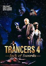 TRANCERS 4: JACK OF SWORDS Tim Thomerson DVD in Inglese NEW .cp
