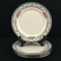 Set of 4 VTG Bread Plates by Lenox Country Romance American Home Collection USA