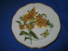 HEREND Butterfly Weed  1st Ed. dessert plate   Gorgeous!!