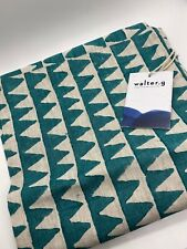 Walter G. Hand Crafted Textiles Pillow Case Cover Pyramid Turkish Linen 50x50cm