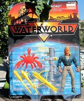1995 Kenner Waterworld Action Figure Nord W/Firing Bazooka & Crab MIP