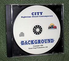 "56010 MODEL RAILROAD SOUND EFFECTS AUDIO CD ""CITY NIGHT MODERN DIESEL"""