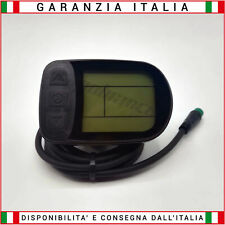 Display LCD 24/36/48 Volt - Connessione UPG