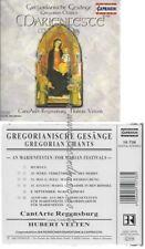 CD--HUBERT VELTEN--    GREGORIAN CHANTS FOR MARIAN FESTIVALS
