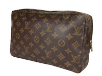LOUIS VUITTON TROUSSE TOILETTE 28 Monogram Canvas Cosmetic Pouch Bag LP3583
