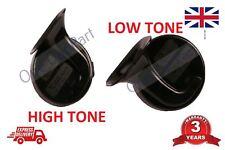 PAIR OF HIGH / LOW TONE Horns Volkswagen VW Passat Bora Golf Caddy 12v 410 510hz