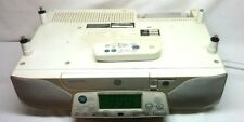 GE Stereo AM/FM Radio & CD Player - SpaceMaker -Under Cabinet - Light & Remote !