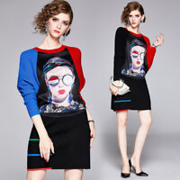 Fall Winter 2pcs Runway Women Sets Knitted Top Sweatershirt Skirt Suits Outfits