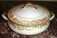 1894-1931 HAVILAND H & CO Limoges SCHLEIGER 691 PORTLAND Covered Vegetable Bowl
