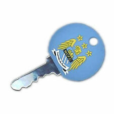 Man City Key Cap - Rubber Key Cover / Cap with Raised Badge -Ideal Football Gift