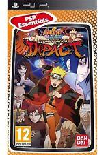 PSP Naruto Shippuden Ultimate Ninja Impact Essential Nuevo Precintado Pal España