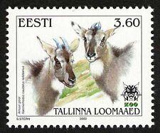 Estonia 2000 MNH, Goral, Goat Like Animal, Rare Species@