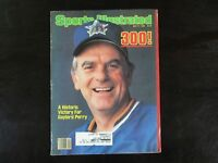 Sports Illustrated Magazine 5/17/82 Gaylord Perry Seattle Mariners (S1)
