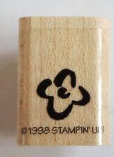 Flower Rubber Stamp Stampin' Up! New 1998 Crafts DIY Cards Garden Floral