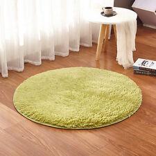2 Size Non-slip Absorbent Memory Foam Bath Bedroom Floor Shower Round Mat Rug