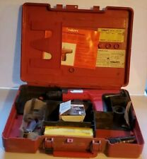 Hilti Dx35 Powder Actuated Concretesteel Nail Gun With Case Tested Works