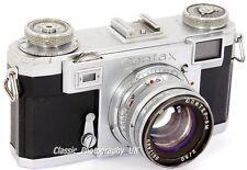 ZEISS Ikon Contax IIa - 35mm Rangefinder Made in 1951 + Jupiter-8 2/50mm Lens