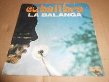 "Cubalibra Balanga Touch of glass Claude Morgan Promo White 7"" NUOVO 45 GIRI"