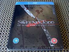 Blu Steel 4 U: Sweeney Todd : Embossed Limited Edition Steelbook : Sealed