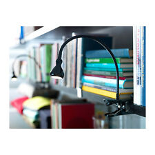Ikea JANSJÖ Led Wall/Clamp Spotlight Black Office Light Lamp Clip On Jansjo