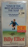 Billy Elliot (VHS, 2001) Brand NEW Factory Sealed! BBC Films Classic Comedy