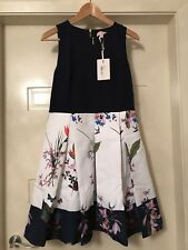 d622b15a7242 TED BAKER LONDON   TROPICAL OASIS  BODICE DRESS Size 4 ...