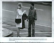 "1975 Press Photo Robert De Niro & Co-Star in ""Taxi Driver"" Film - pip23193"