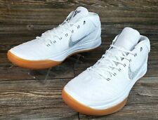 Nike Kobe A.D. iD Mens Basketball Shoes Gum Soles White AO4789-991 Size 14 VGC!