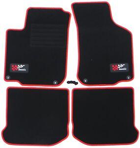 Adecuado Para Seat Leon 1 1M / Toledo II Esteras Del Coche 1999-2005 Lrru