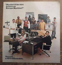 OLDSMOBILE RANGE orig 1970 USA Mkt Prestige Brochure - 4-4-2 Cutlass Toronado