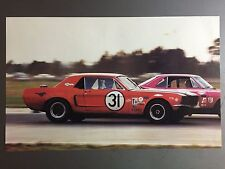 1966 Ford Mustang Coupe Race Car Print Picture Poster RARE!! Awesome L@@K